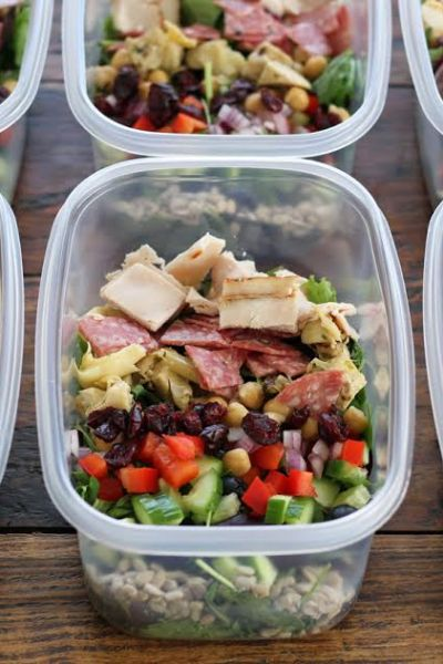 Meal Planning – Italian Chopped Salads