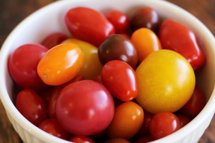 Tomatoes for the Marinated Tomato Salad   artfuldishes.com