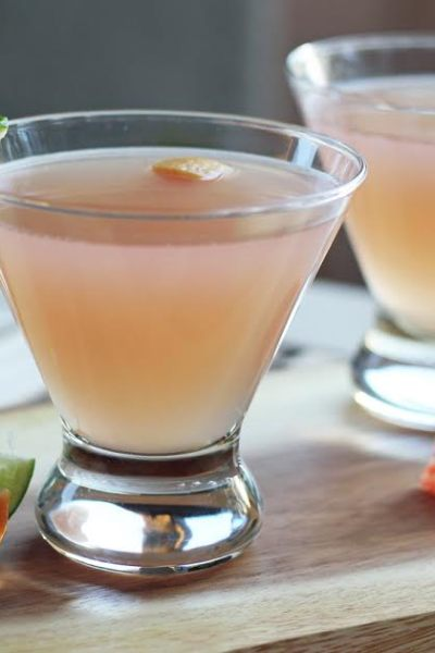 Double Citrus Margarita Martini