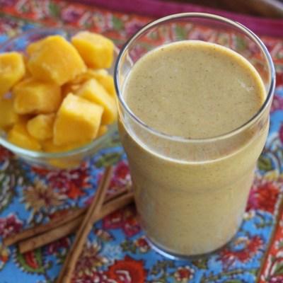 Mango Chai Protein Smoothie