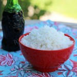 How to Make White Rice with Lucky Soy Sauce on the Side | www.artfuldishes.com