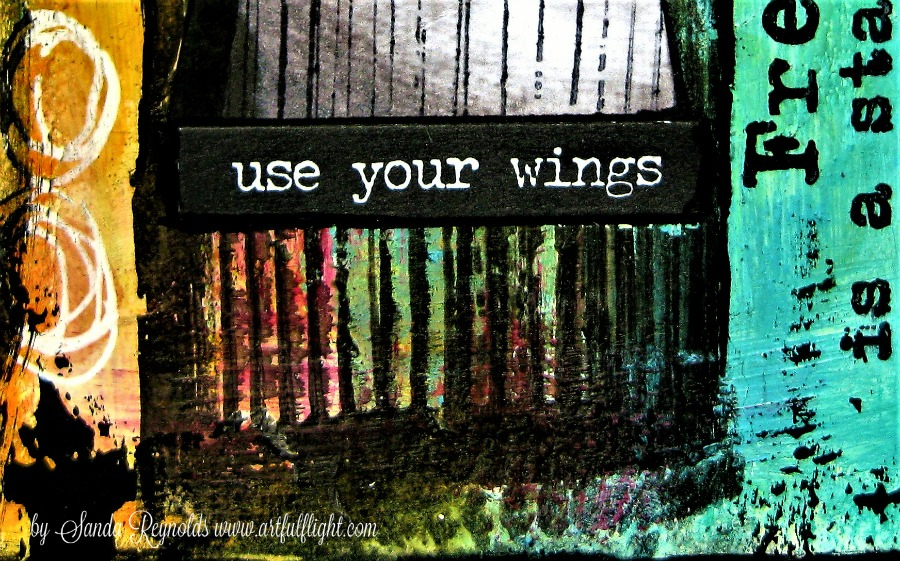 "ICAD challenge - Day #23 ""Use Your Wings"""