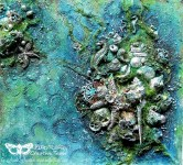 Hidden Treasures – Mixed Media Canvas for Finnabair CT