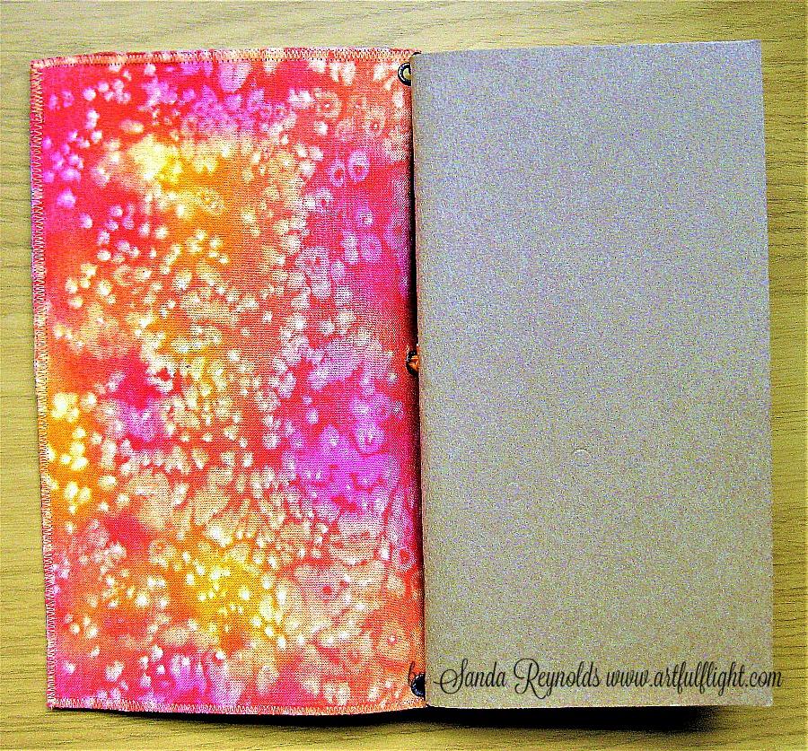 Fauxdori covers - original mixed media gelli printed art collage