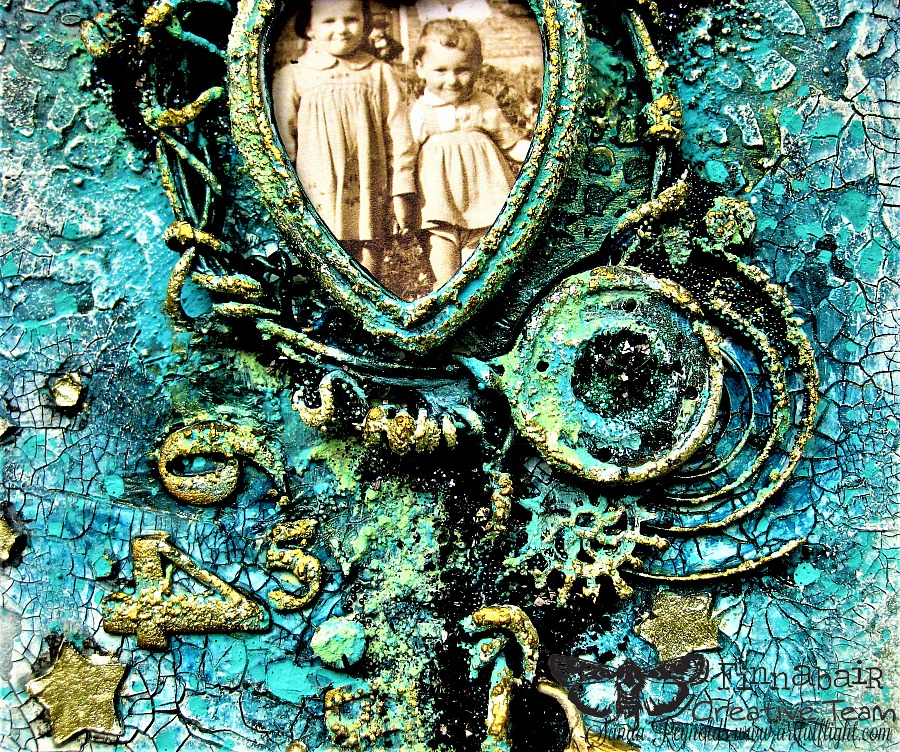 """""""Dream On…"""" – mixed media collage/assemblage for Finnabair CT"""