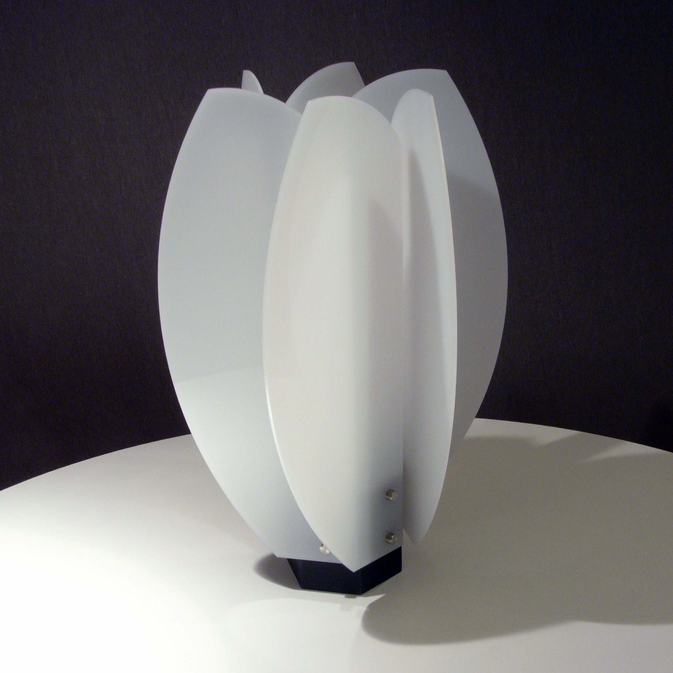Laleh Lamp By John Nalevanko Acrylic Lamp Artful Home