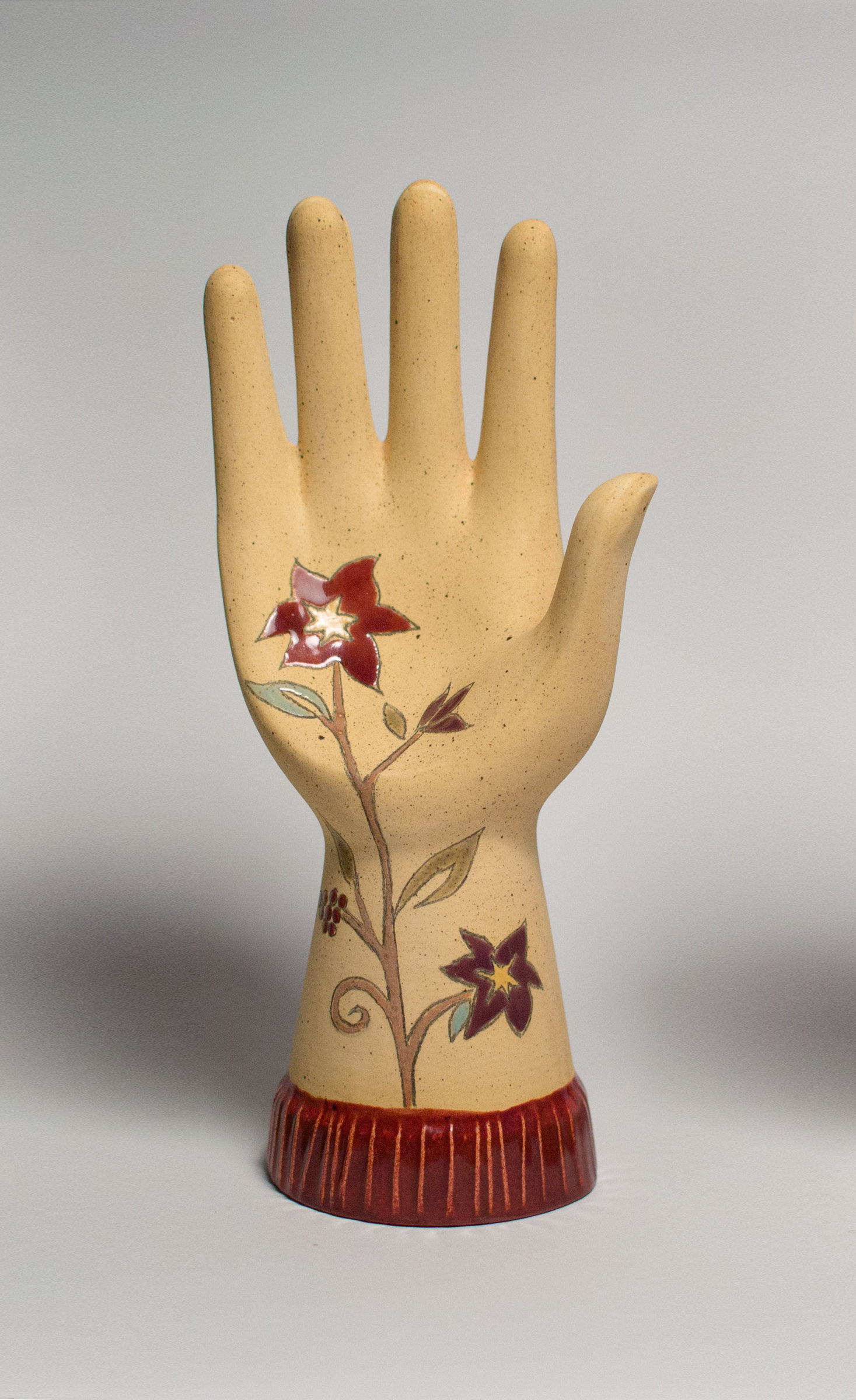 Ceramic Hand Sculpture Eden By Janna Ugone Ceramic Sculpture Artful Home