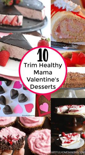 Delicious Trim Healthy Mama Valentine's Desserts!
