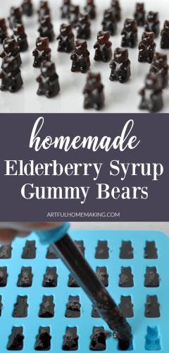 Elderberry Syrup Gummies