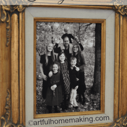 Take Your Own Family Photo {Day 22}