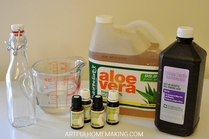 homemade essential oil mouthwash recipe