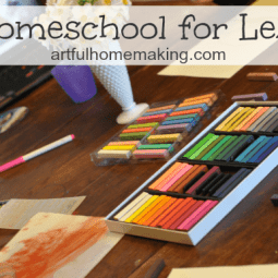 Homeschool for Less {Day 28}