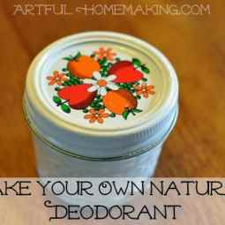 Make Your Own Natural Deodorant