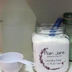 Plain Jane Laundry Soap Giveaway!