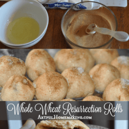 Whole Wheat Resurrection Rolls {Recipe + Story}