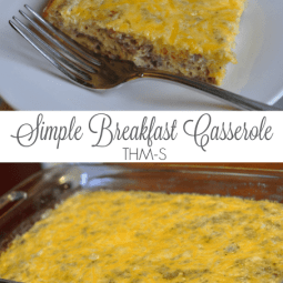 Simple Breakfast Casserole (THM-S)