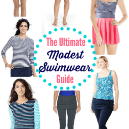 The Ultimate Modest Swimwear Guide