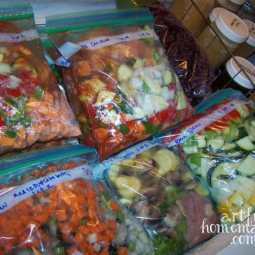 Save Time With Trim Healthy Mama Slow Cooker Freezer Meals!