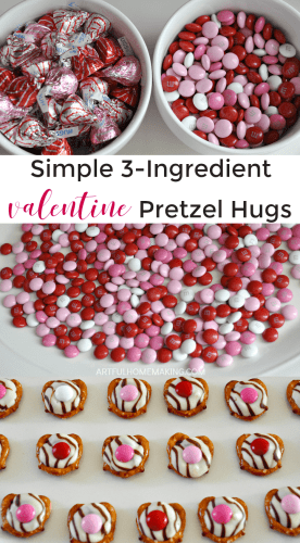 These Valentine's Pretzel Treats only have 3 ingredients!