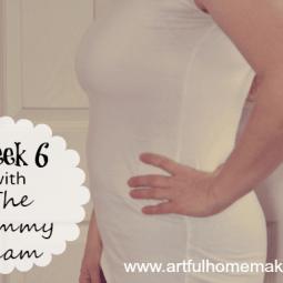 Week 6 With The Tummy Team {Healing Diastasis Recti}