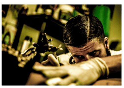 tattoo artist - How To Remove Tattoos Naturally
