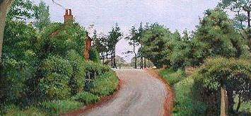 rural england, painting lessons