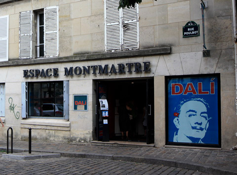Image result for image of musee de Dali in paris