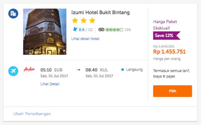 Liburan ke Kuala Lumpur