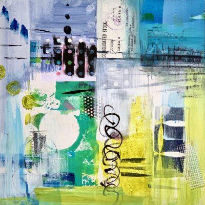Acrylic contemporary abstract
