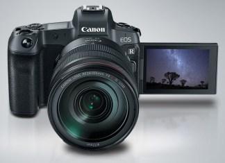Canon EOS R İlk Aynasız Sistemini Anons Etti