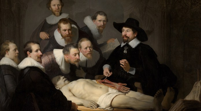 Rembrandt - The Anatomy Lesson of Dr Nicolaes Tulp