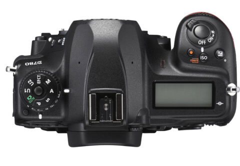 Nikon D780 Üst