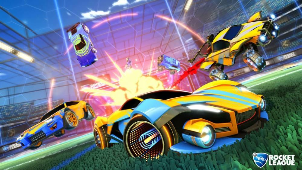 rocket league game poster 5