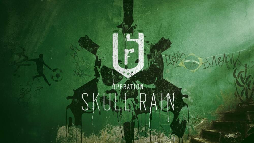 rainbow six siege operation skull rain game poster