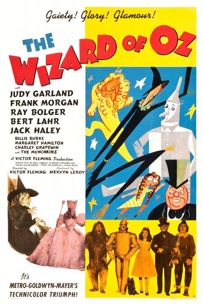 wizard of oz age movie poster