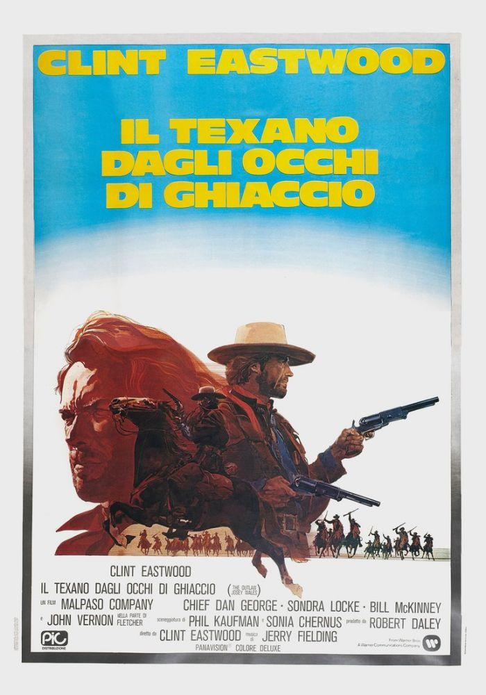the outlaw josey wales more clint eastwood movie poster