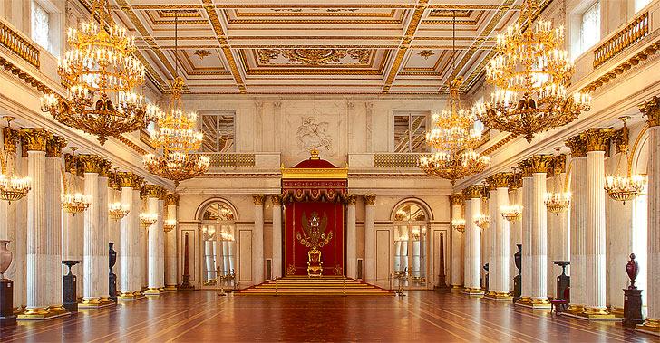 Картинки по запросу эрмитаж тронный зал