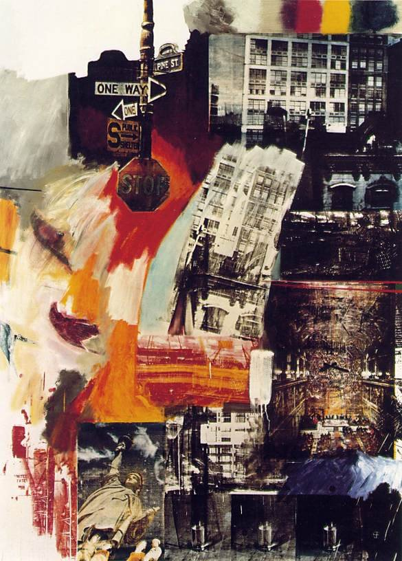 Robert Rauschenberg - Estate - 1963