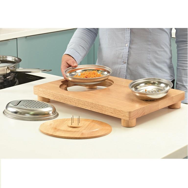 Multi Purpose Food Preparation Board Adapted Cutting