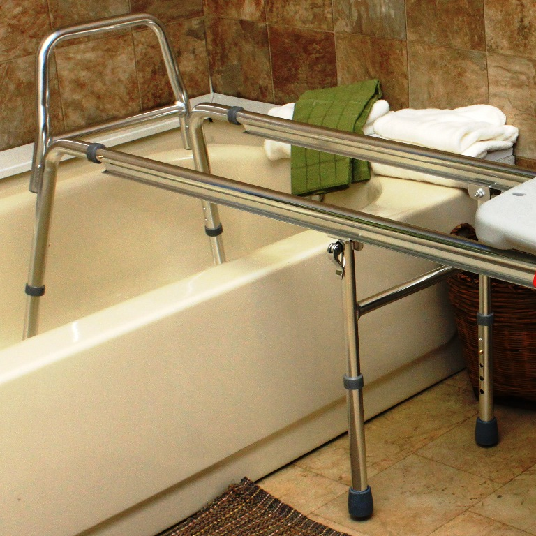 Xx Long Toilet To Tub Sliding Transfer Bench Extra Long