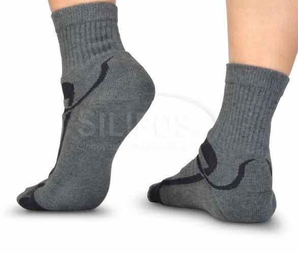 Silipos Moisturizing Socks For Men Gel Softens Dry Skin