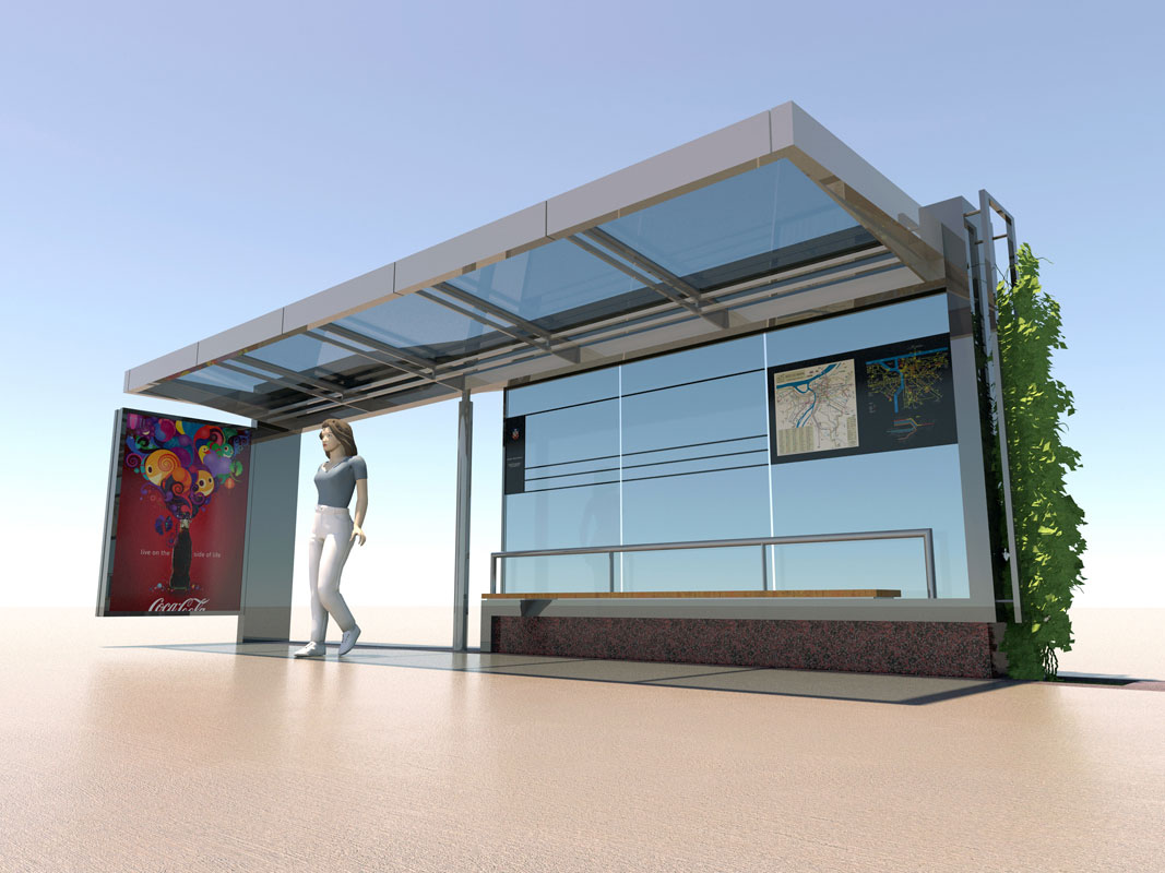 Bus Stop At Vukov Spomenik Replacement Design Arths