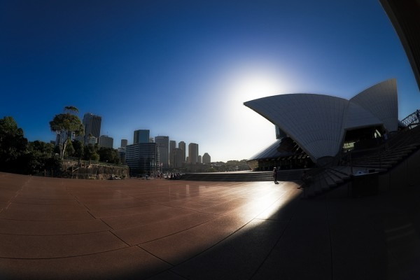 From Sydney Opera