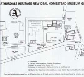 New Deal Festival Map