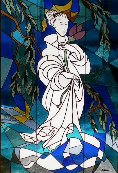 Arthur Kraft, Artist, Kansas City, Stained Glass, Carter Art Center