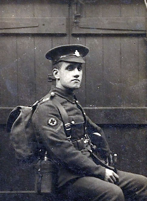 Arthur Linfoot in Uniform