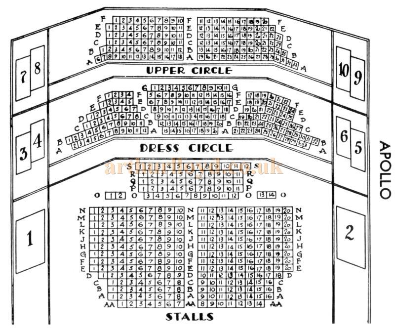 Apollo Theatre Hammersmith Seating Plan Brokeasshome Com