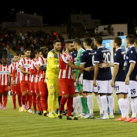Atromitos vs Olympiacos 27/09/2014