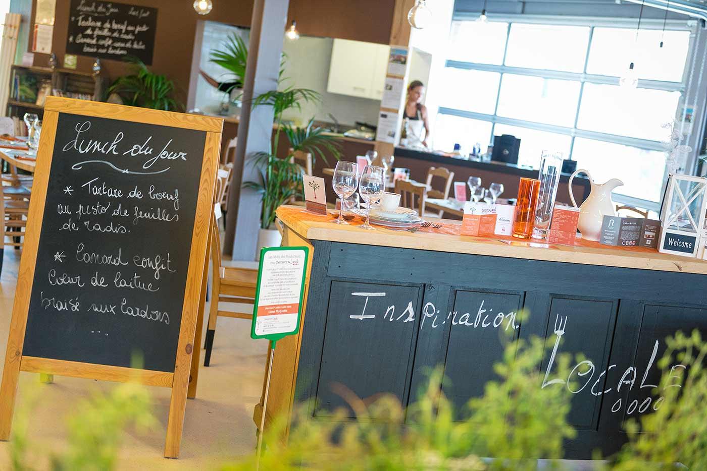reportage photographique au restaurant inspiration locale : entrée