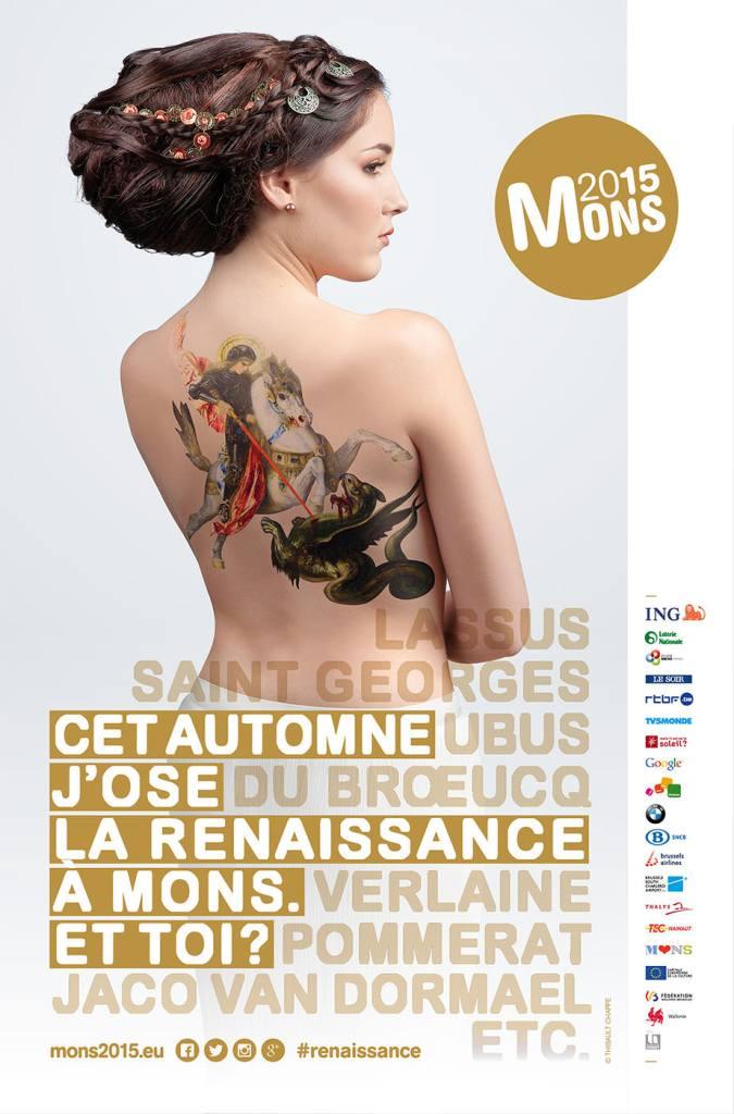 Retouche photo professionnelle Mons 2015 - Affiche